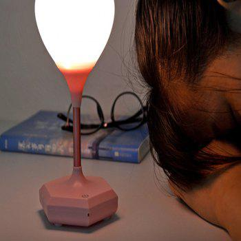 Silicone USB Charging Love Energy-Saving Nightlight - PINK