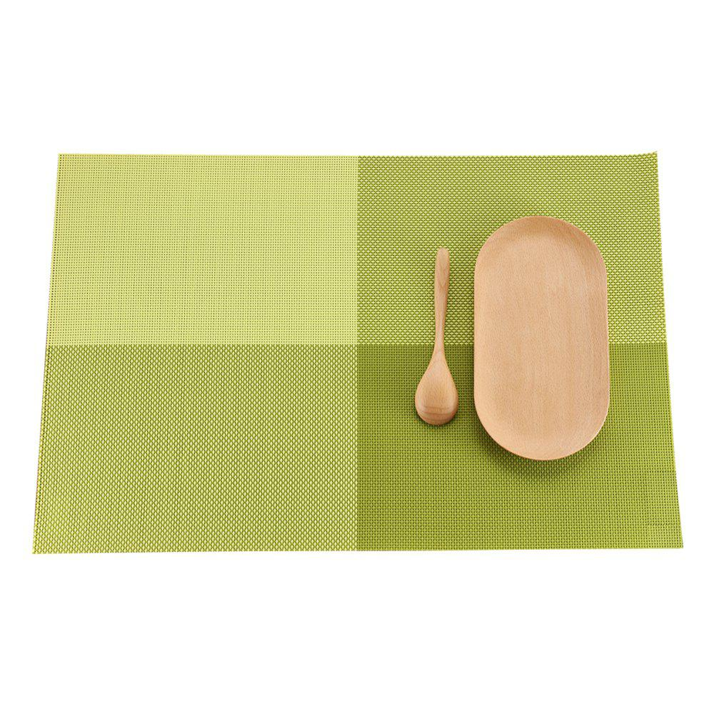 Heat Insulation Placemat PVC Table Water Washing Mat