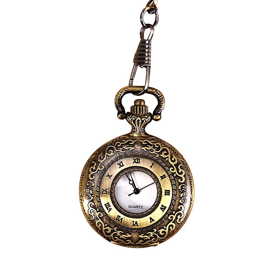 Lucky Family Sy802 Small Quartz Pocket Watch - SAND