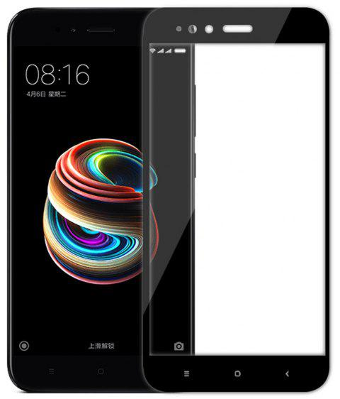 3D Full Cover Tempered Glass for Xiaomi 5X HD Screen Protector Film - BLACK