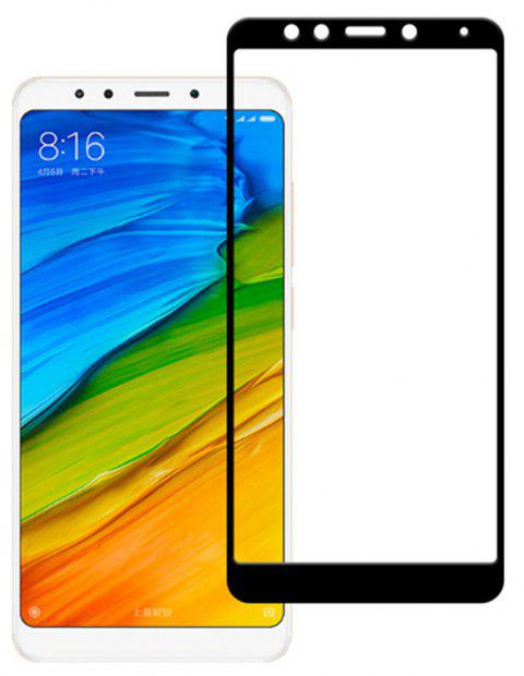 3D Full Cover Tempered Glass for Xiaomi Redmi 5 Plus HD Screen Protector Film - BLACK