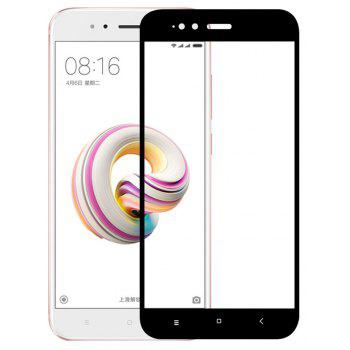 3D Full Cover Tempered Glass for Xiaomi A1 HD Screen Protector Film - BLACK