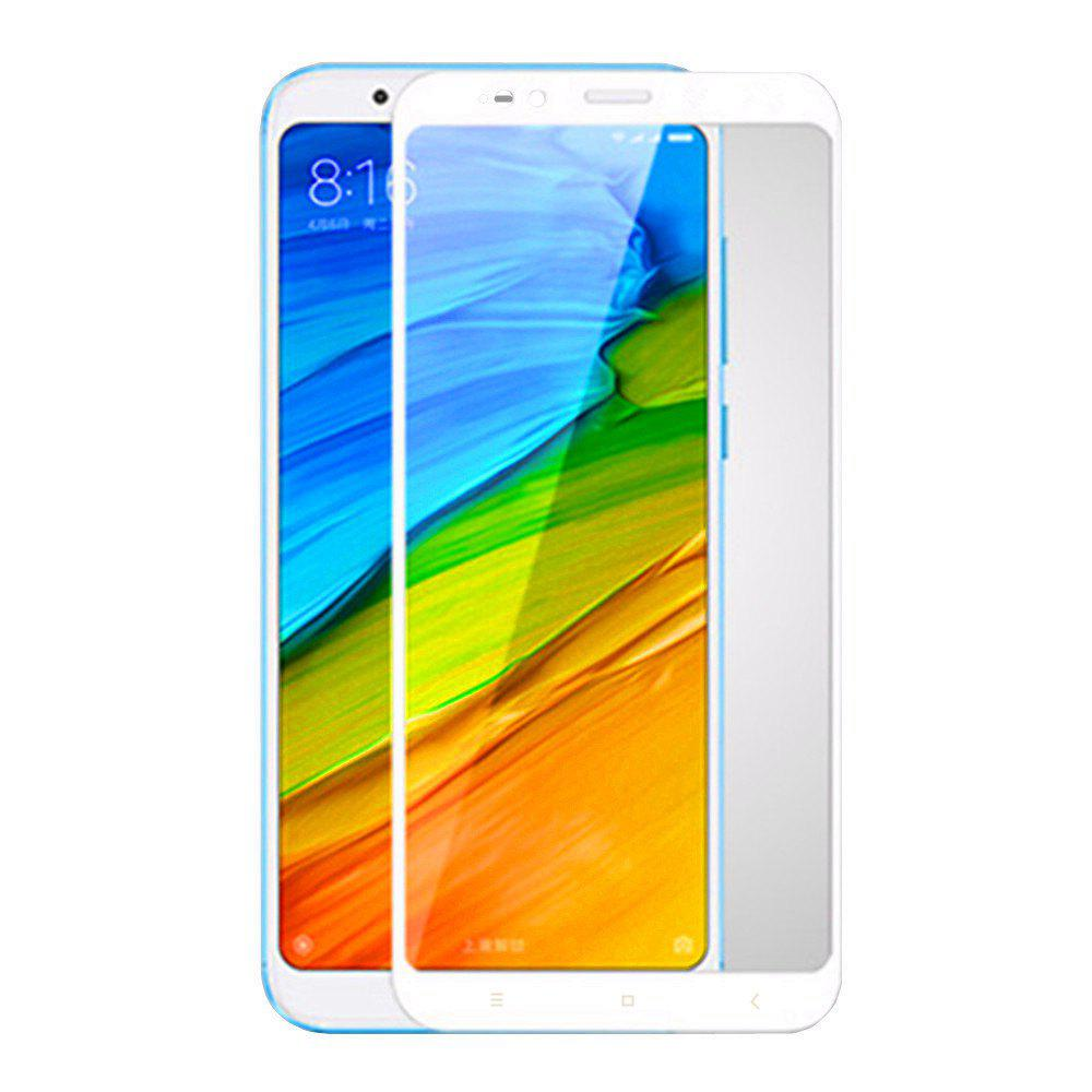 3D Full Cover Tempered Glass for Xiaomi 5X HD Screen Protector Film - WHITE