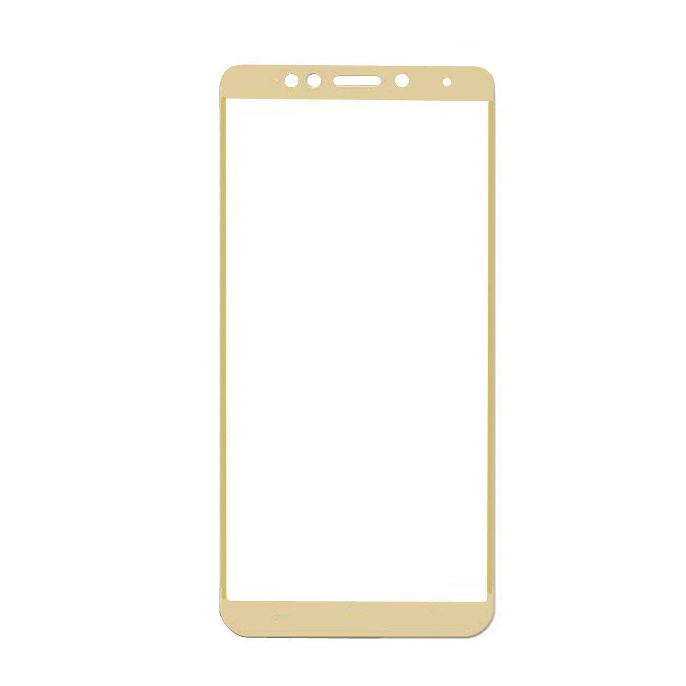 3D Full Cover Tempered Glass for Xiaomi Redmi 5 Plus HD Screen Protector Film - GOLDEN BROWN