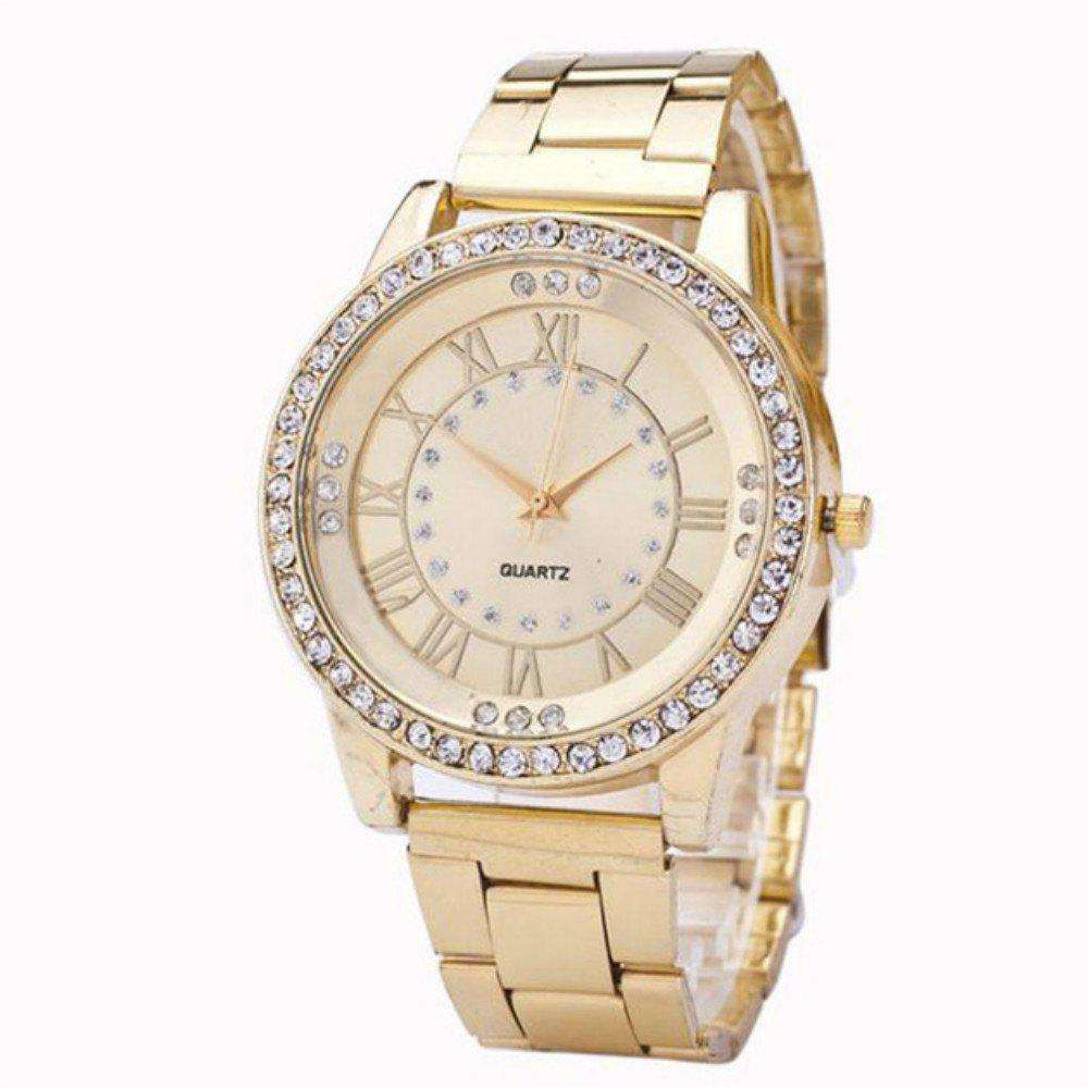 Ladies Fashion Business Diamond Quartz Watch weiqin real ceramic women watch brand luxury diamond fashion watches ladies rose gold wrist watch quartz hours relogios feminino