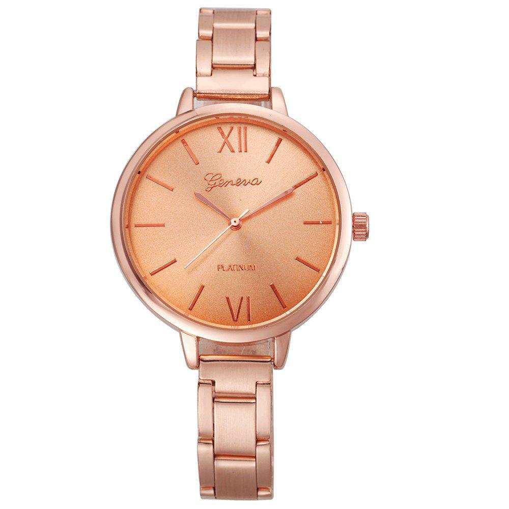 Classic Gold Silver Rose Gold Fashion Women Small Steel Band Thin Band Watch 16mm 18mm 20 22mm ceramic and stainless steel watchband rose gold white rose gold black watch band watch strap butterfly buckle