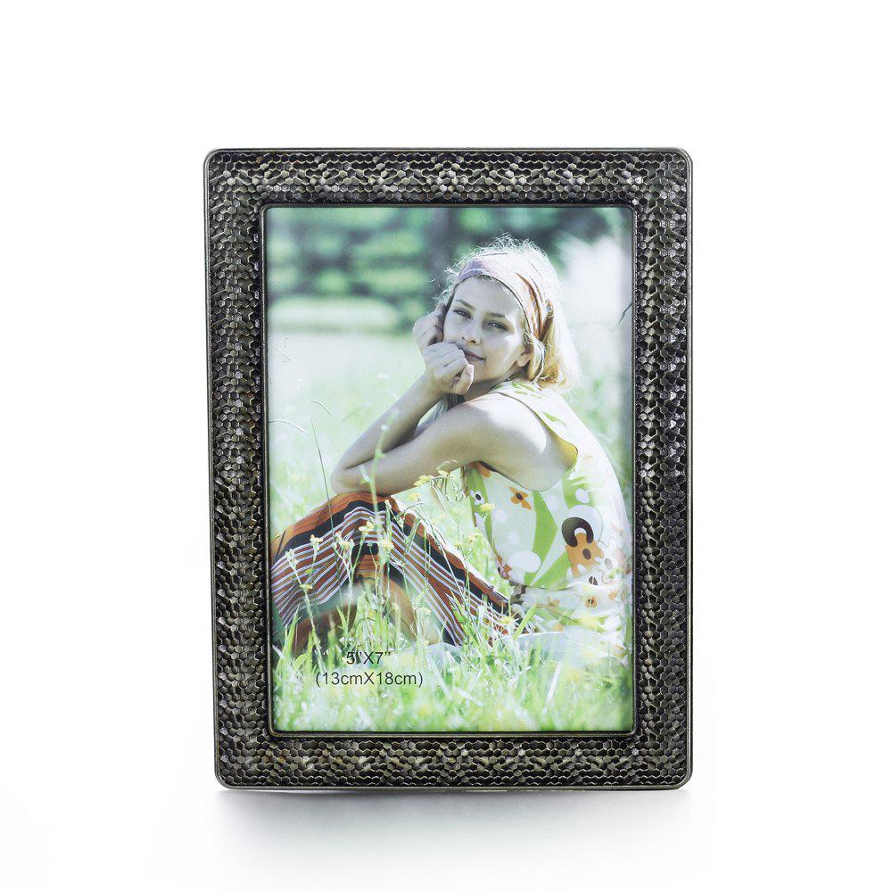 Bz-04 Retro Wedding Photo Studio Table Set Wall Metal Bronze Picture Frame