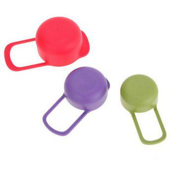 6pcs Colorful Measuring Spoon Cup Baking Tool - multicolor