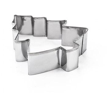 3pcs Stainless Steel Christmas Tree Cookie Cutter Cake Biscuits Decorating Tool - SILVER