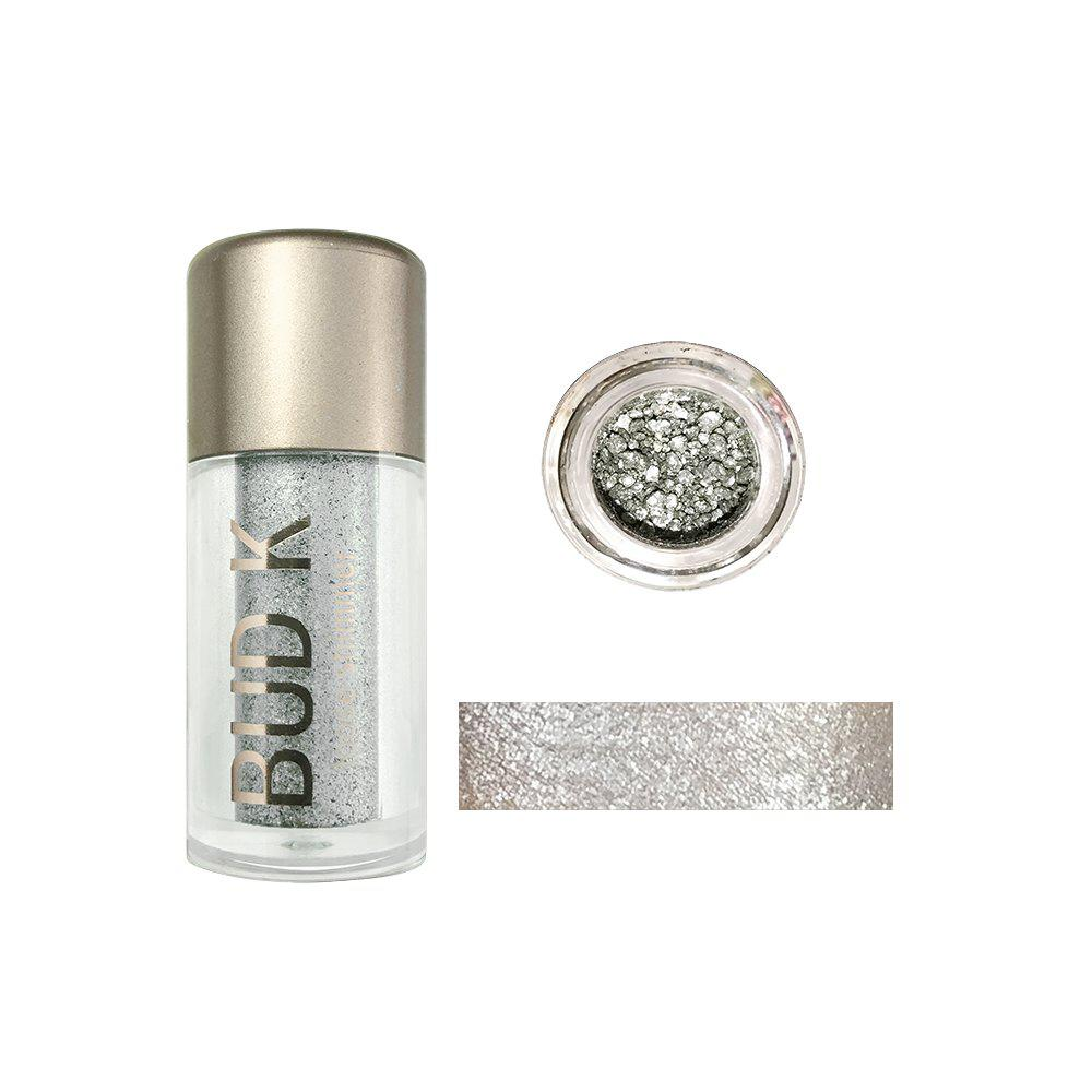 BUDK Glitter Eyeshadow Cosmetics Makeup Diamond Lips Loose Eyes Pigment Powder -