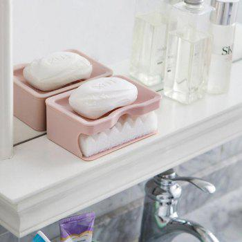 Bathrooms Double Soap Box - PINK