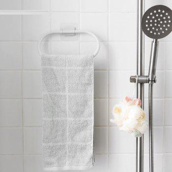 Household Towel Hooks Rag Rack - GRAY GOOSE