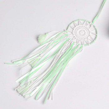 Fresh Mainden Complex Dreamcatcher home Hang Decoration - EMERALD GREEN