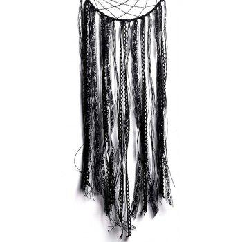 New Style Black Tassel Moon Dreamcatcher in The Home Decoration - BLACK