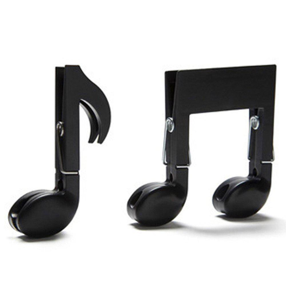 Portable Multifunction Music Note Style Shape Small Clip music clip staff page clip with music pattern