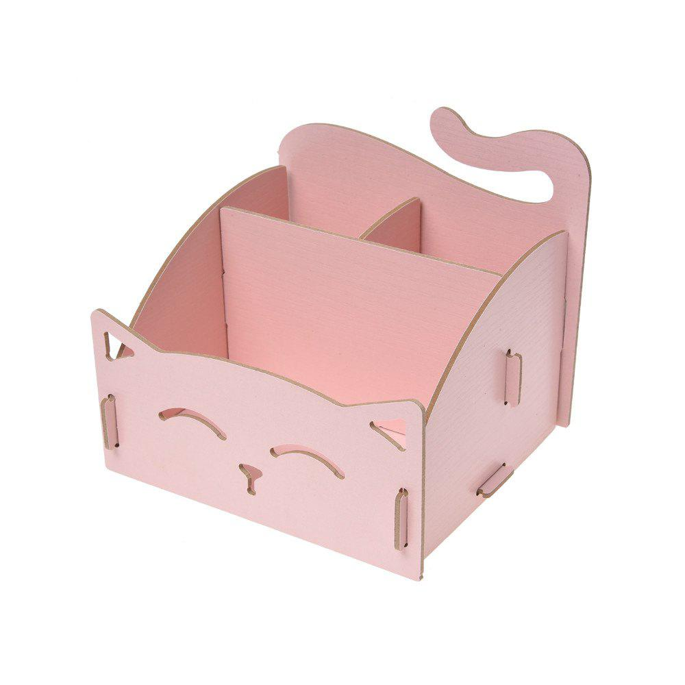 Wooden Storage Box for Jewelry Organizer - PINK