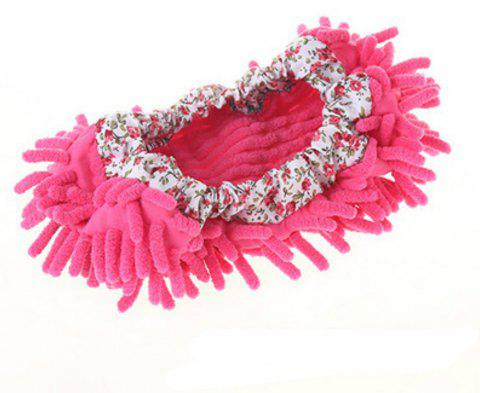 1PC Multifunctional Chenille Micro Fiber Covers Clean - HOT PINK