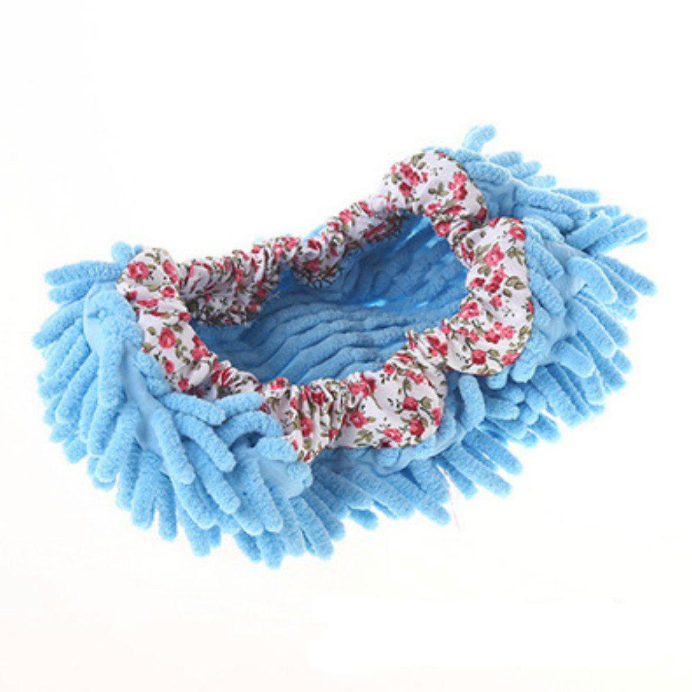 1PC Multifunctional Chenille Micro Fiber Covers Clean - DAY SKY BLUE