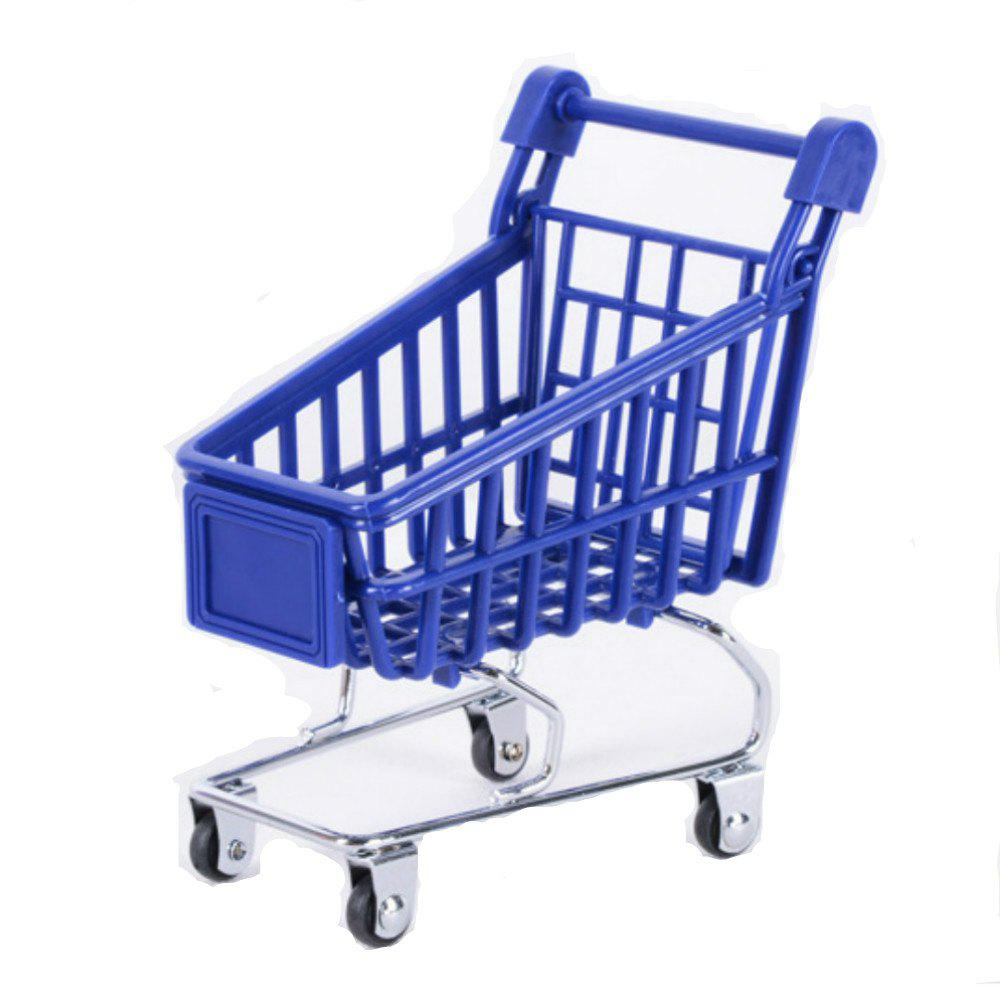 Office Storage Basket Mini Shopping Cart Plastic juki mechanical feeder cart storage trolley cart