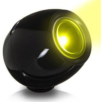 BRELONG Automatic Colour Changing LED Touch Night Light - BLACK