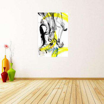 W167 Abstract Unframed Art Wall Canvas Prints for Home Decorations - multicolor A 35CM X 50CM
