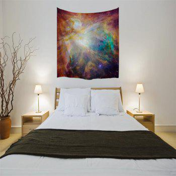 Magic Light 3D Printing Home Wall Hanging Tapestry for Decoration - multicolor A W153CMXL130CM