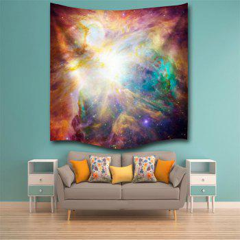 Magic Light 3D Printing Home Wall Hanging Tapestry for Decoration - multicolor A W153CMXL102CM
