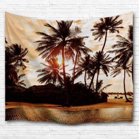 The Setting Sun 3D Printing Home Wall Hanging Tapestry for Decoration - multicolor A W153CMXL102CM