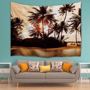 The Setting Sun 3D Printing Home Wall Hanging Tapestry for Decoration - multicolor A W203CMXL153CM