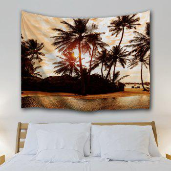 The Setting Sun 3D Printing Home Wall Hanging Tapestry for Decoration - multicolor A W229CMXL153CM