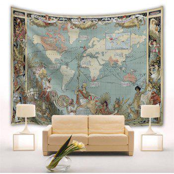 The Sun Never Sets Empire 3D Printing Home Wall Hanging Tapestry for Decoration - multicolor A W229CMXL153CM
