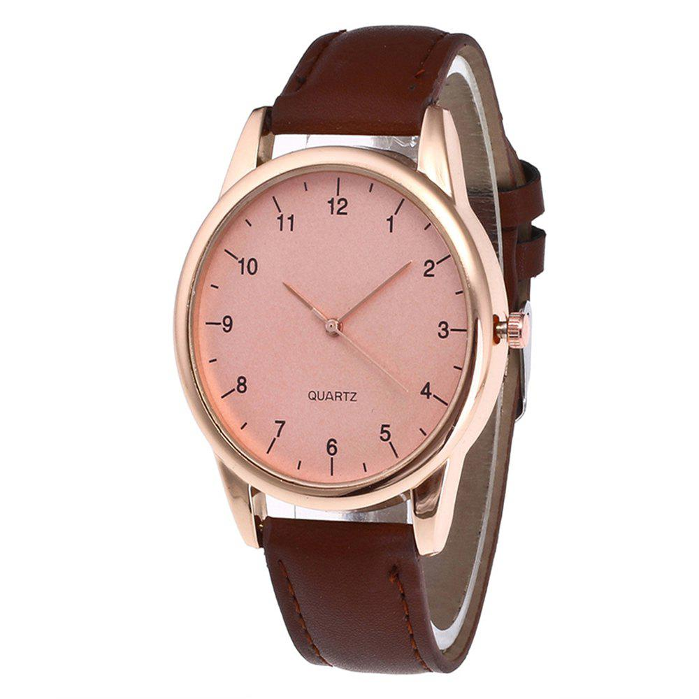 Stylish Simple Men  Watch - COFFEE