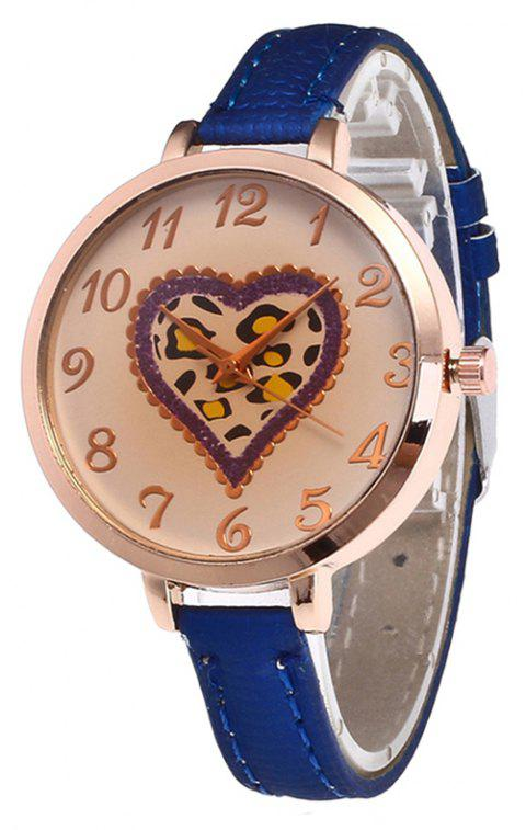 Love Tea Color Dial Women Watch - ROYAL BLUE