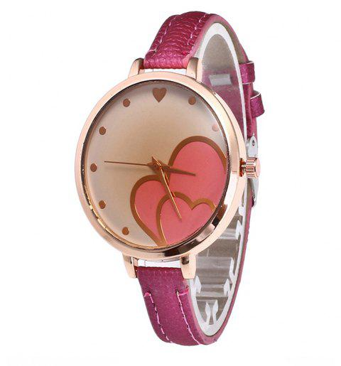 Love Tea Women Quartz Watch - ROSE RED