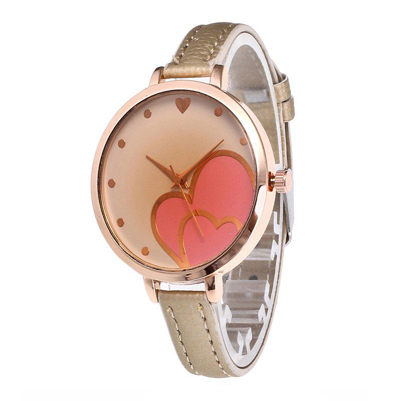 Love Tea Women Quartz Watch - CORNSILK
