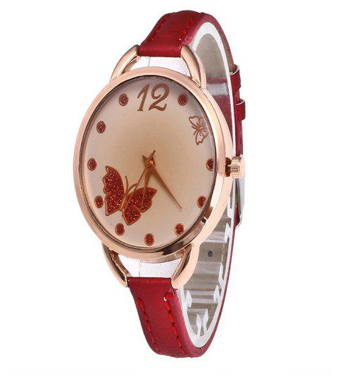 Butterfly Tea Women Quartz Watch - CHILLI PEPPER
