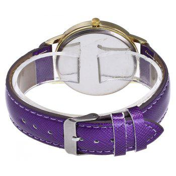 Fashion Alloy Quartz Watch - PURPLE
