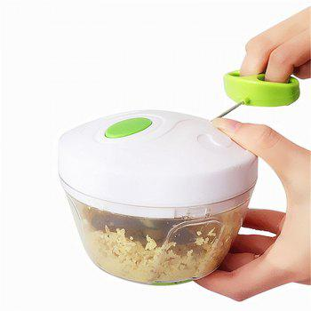 New Household Multifunctional Fruit and Vegetable Baby Assist Food Chopper - WHITE