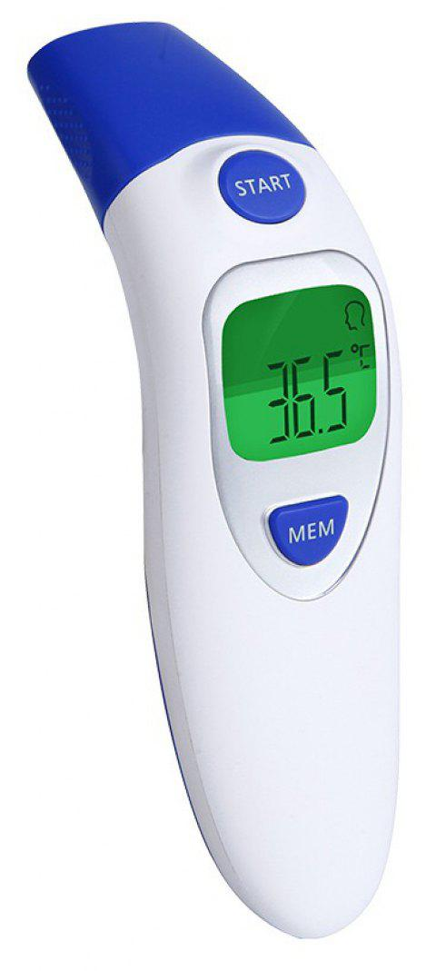 Digital Medical Infrared Forehead & Ear Non-Contact Thermometer for Baby Kids - BLUEBERRY BLUE
