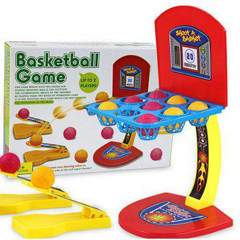 Cage Shooting Machine Board Games Competition Toy Parent-child Interaction - RED