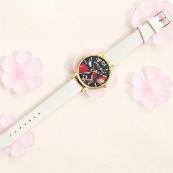 Lvpai P85-1 New Fashion Women's Quartz Watch - WHITE