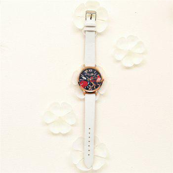 Lvpai P85-2 New Fashion Women's Quartz Watch - WHITE