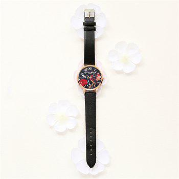 Lvpai P85-2 New Fashion Women's Quartz Watch - BLACK