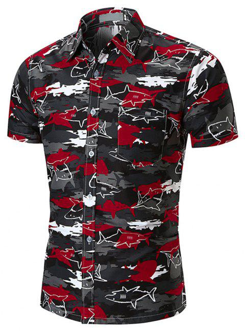 New  Style  Men's  Shirts - multicolor T 2XL