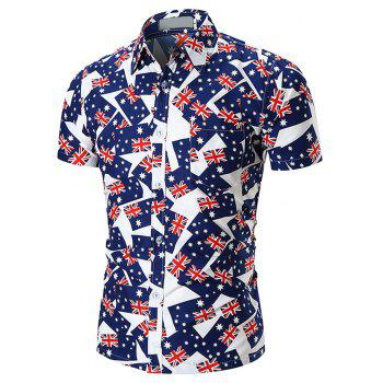 New  Style  Men's  Shirts - multicolor O 2XL