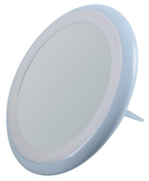 Lamp Fold Portable LED Cosmetic Mirror - BABY BLUE