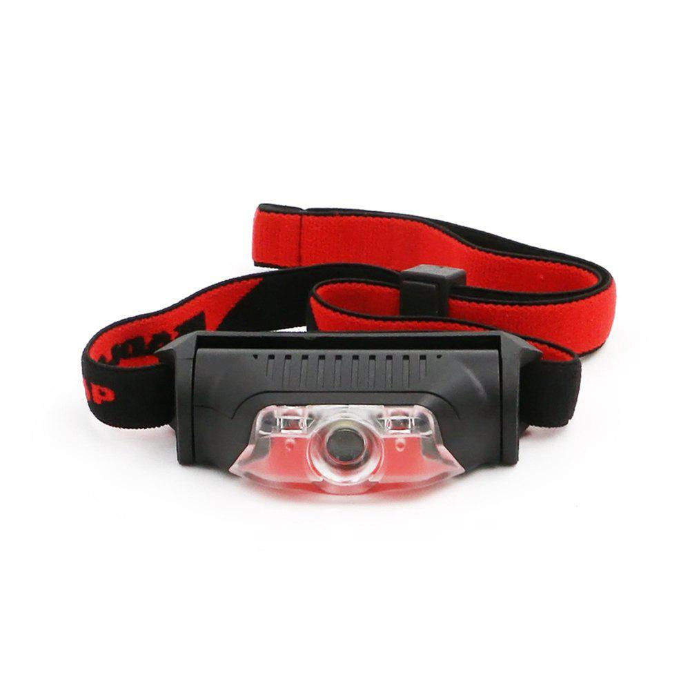 ZHISHUNJIA Mini 4-Mode White LED + Red LED Headlamp Warning Light морозильная камера shivaki sfr 185w