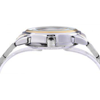 JIJIA G8132 Fully Automatic Mechanical Watches - WHITE
