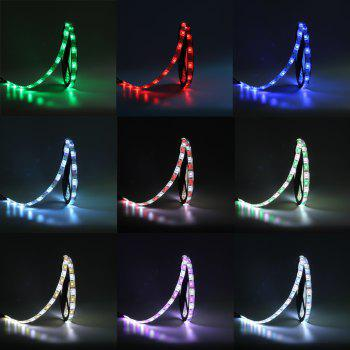 KWB 2 x 5M LED Strip Light 5050 RGBW 600LEDs with 24Key Remote and Power Supply - multicolor WATERPROOF