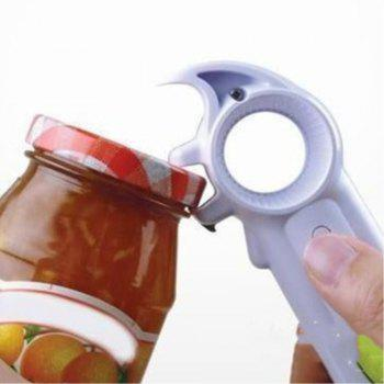 Kitchen Seven in One Bottle Opener Small Tool - multicolor